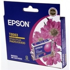 Epson T0563 Genuine Magenta Ink