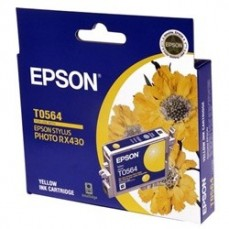 Epson T0564 Genuine Yellow Ink