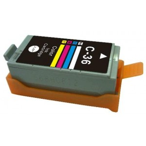 Canon Compatible CLI36C Four Colour Ink Tank
