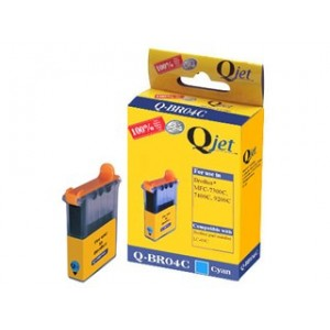 Brother Compatible LC04 Cyan Ink Cartridge
