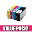 HP 564XL (C/M/Y/K) Compatible Value Pack- with chip