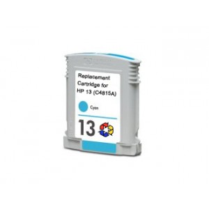 HP 13 (C4815A) Compatible Cyan Ink Cartridge
