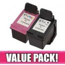 HP 61XL Black & Colour Compatible Value Pack