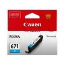 Canon Genuine CLI671 Cyan Ink Cartridge