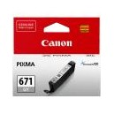 Canon Genuine CLI671 Grey Ink Cartridge