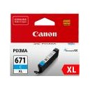 Canon Genuine CLI671XL Cyan Ink Cartridge