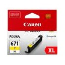 Canon Genuine CLI671XL Yellow Ink Cartridge