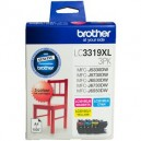 Brother LC3319XL CMY Ink Cartridge Value Pack
