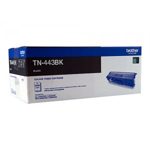 Brother Genuine TN443 Black High Yield Toner