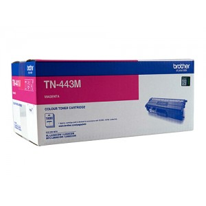 Brother Genuine TN443 Magenta High Yield Toner