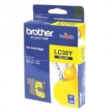 Brother LC38 Yellow