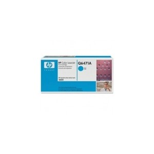 HP Q6471A Genuine Cyan Toner
